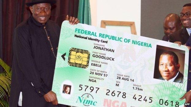 goodluck testing National id card