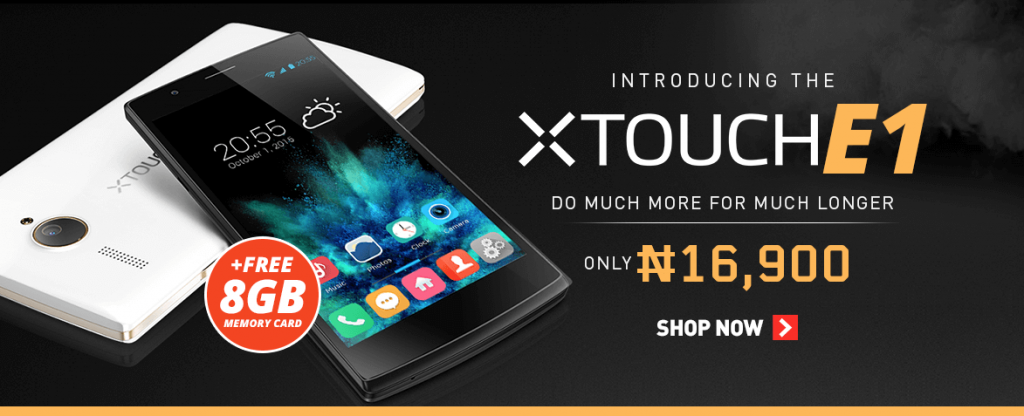 price of xtouch e1