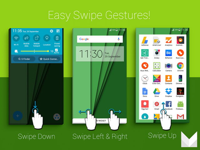 Android 6.0 launcher app