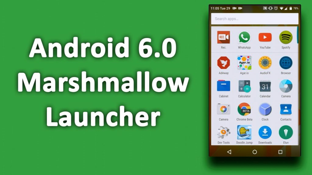 Android 6.0 launchers