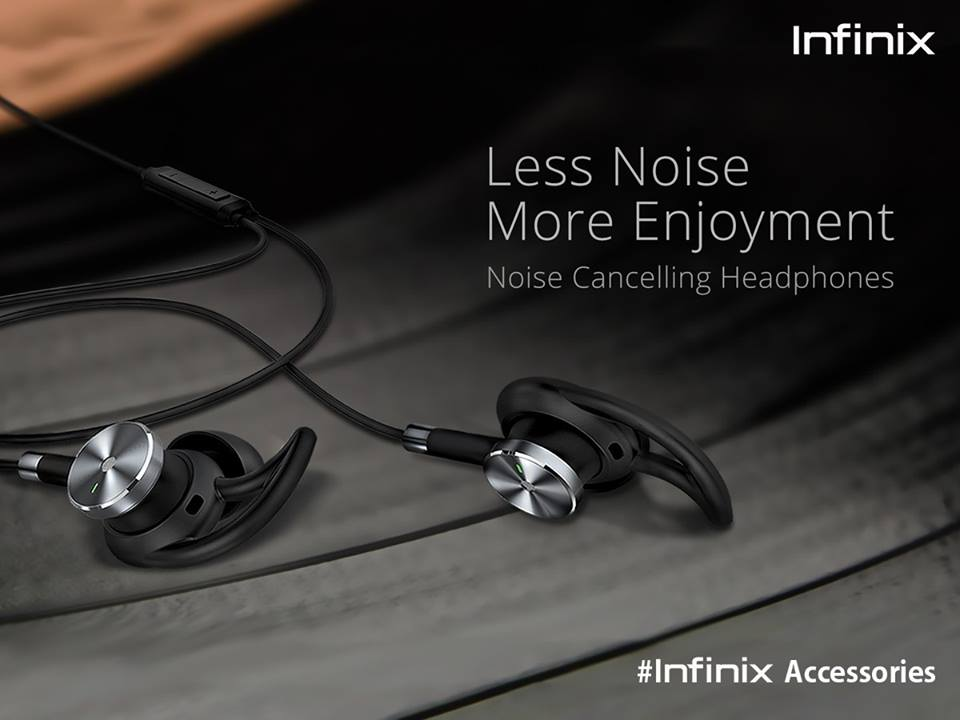 infinix noise cancelling headphones