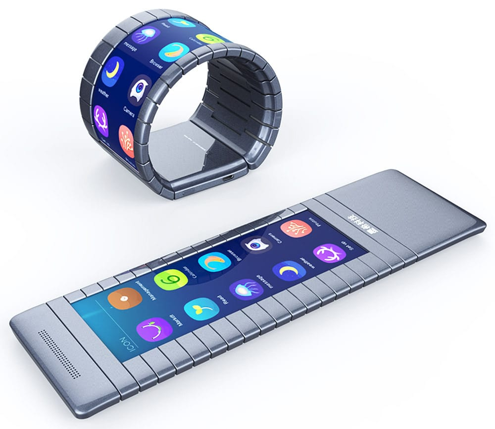 samsung bendable phones