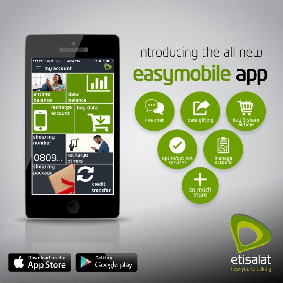 e-download etisalat easymobile app