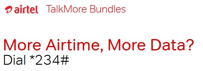 Airtel talk more bundle
