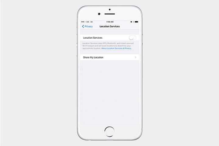 App Location Services