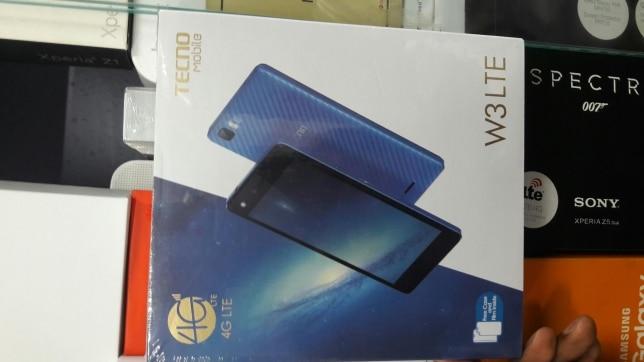 Tecno W3 LTE pack