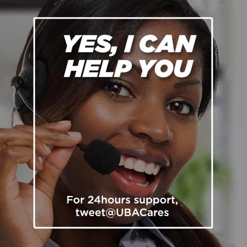 UBA customer care service