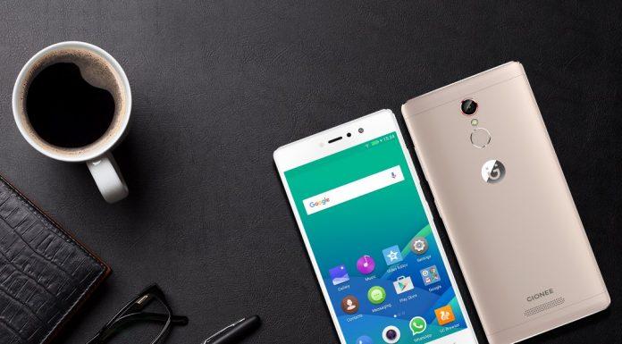 Gionee S6s smartphone