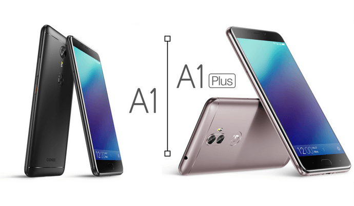 gionee a1 and a1 plus phone