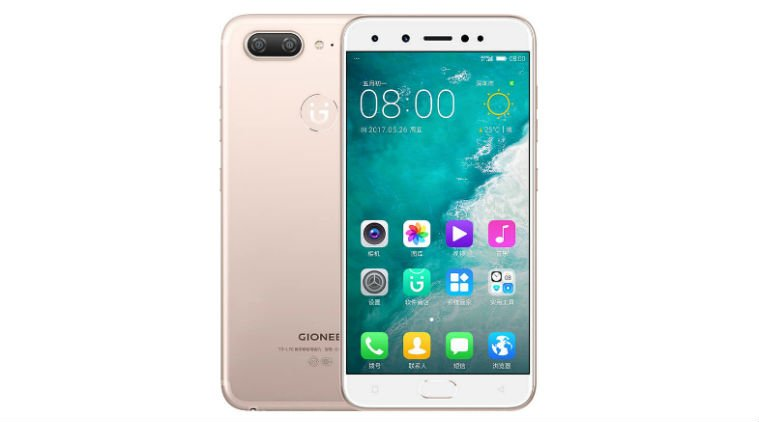 gionee s10 front