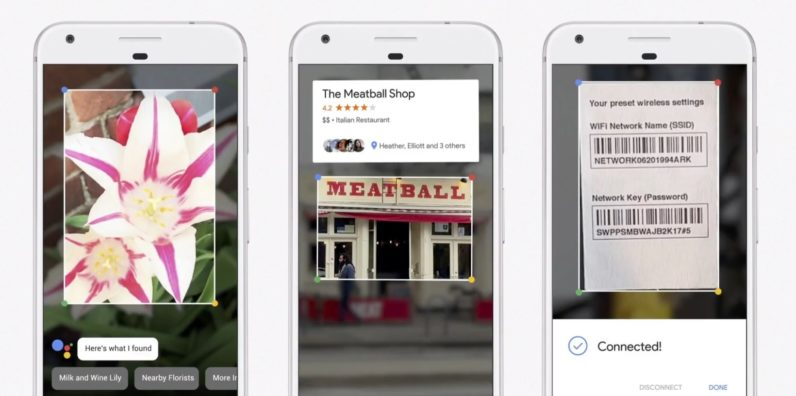 Google Lens, an AI in your camera that identify object