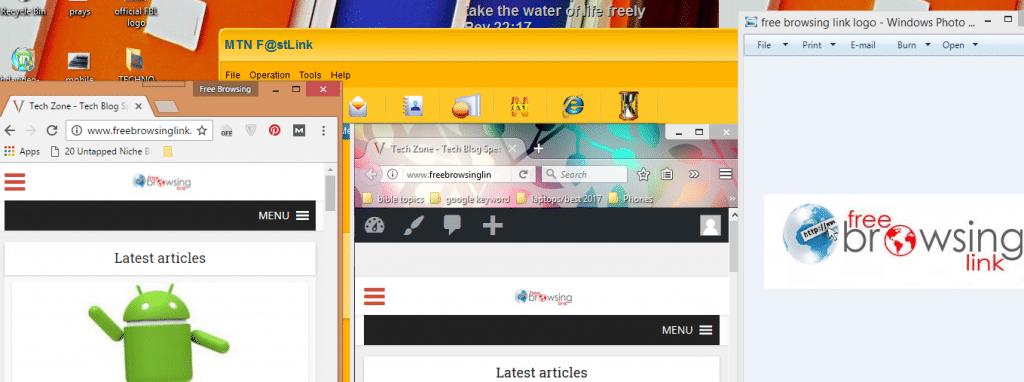 desktop split screen