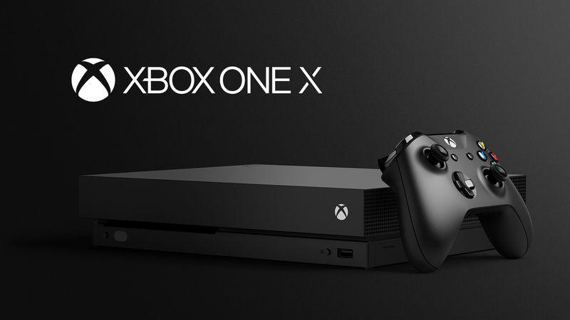 Microsoft Xbox One X console