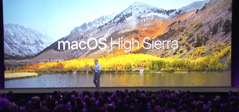 macOS 'High Sierra'