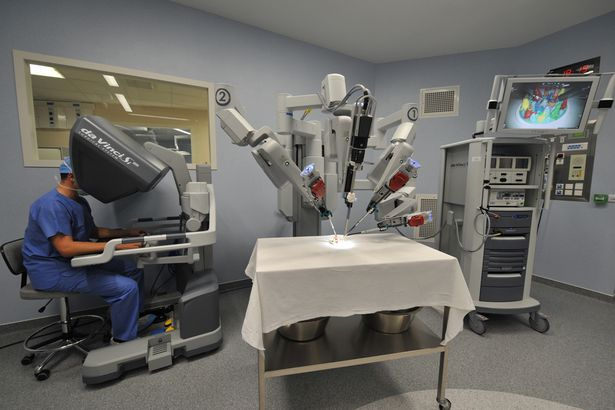 robots machine to perform medically assistant