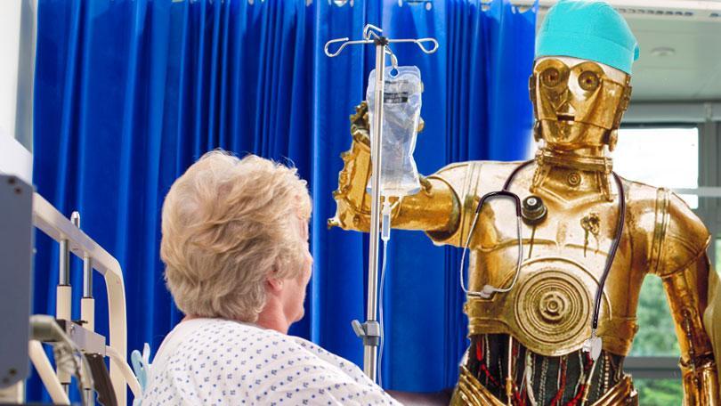 robots replaces doctors