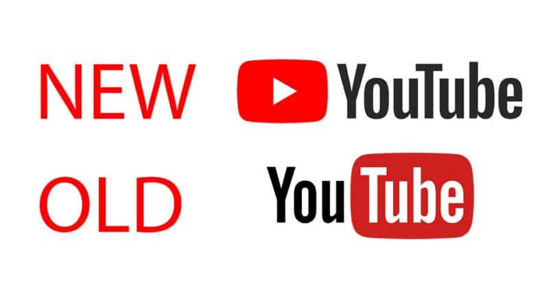 New and Old Youtube Logo