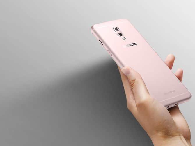 Samsung Galaxy C8 dual camera
