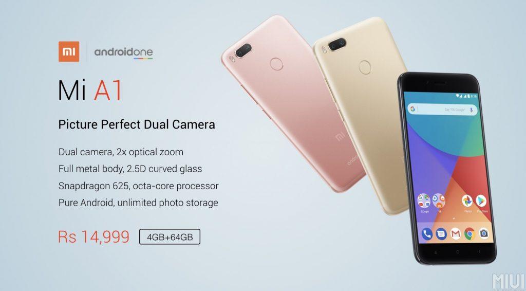 Xiaomi Mi A1 specs