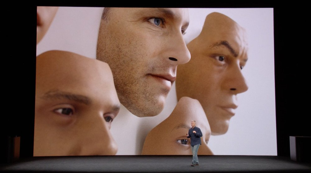 The masks Apple used to train its neural network