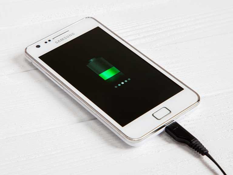 samsung phone charging