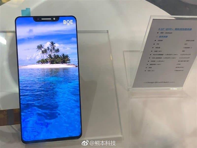 BOE's 6.18-inch OLED Screen