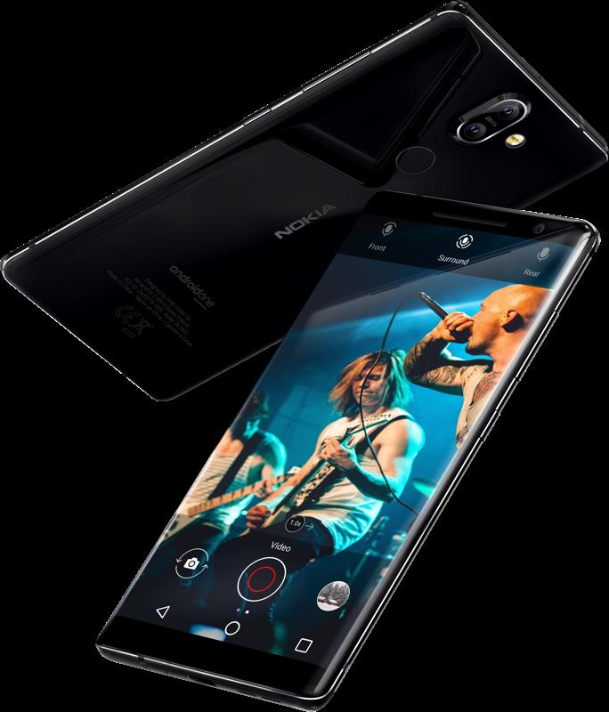 Nokia 8 Sirocco smartphone
