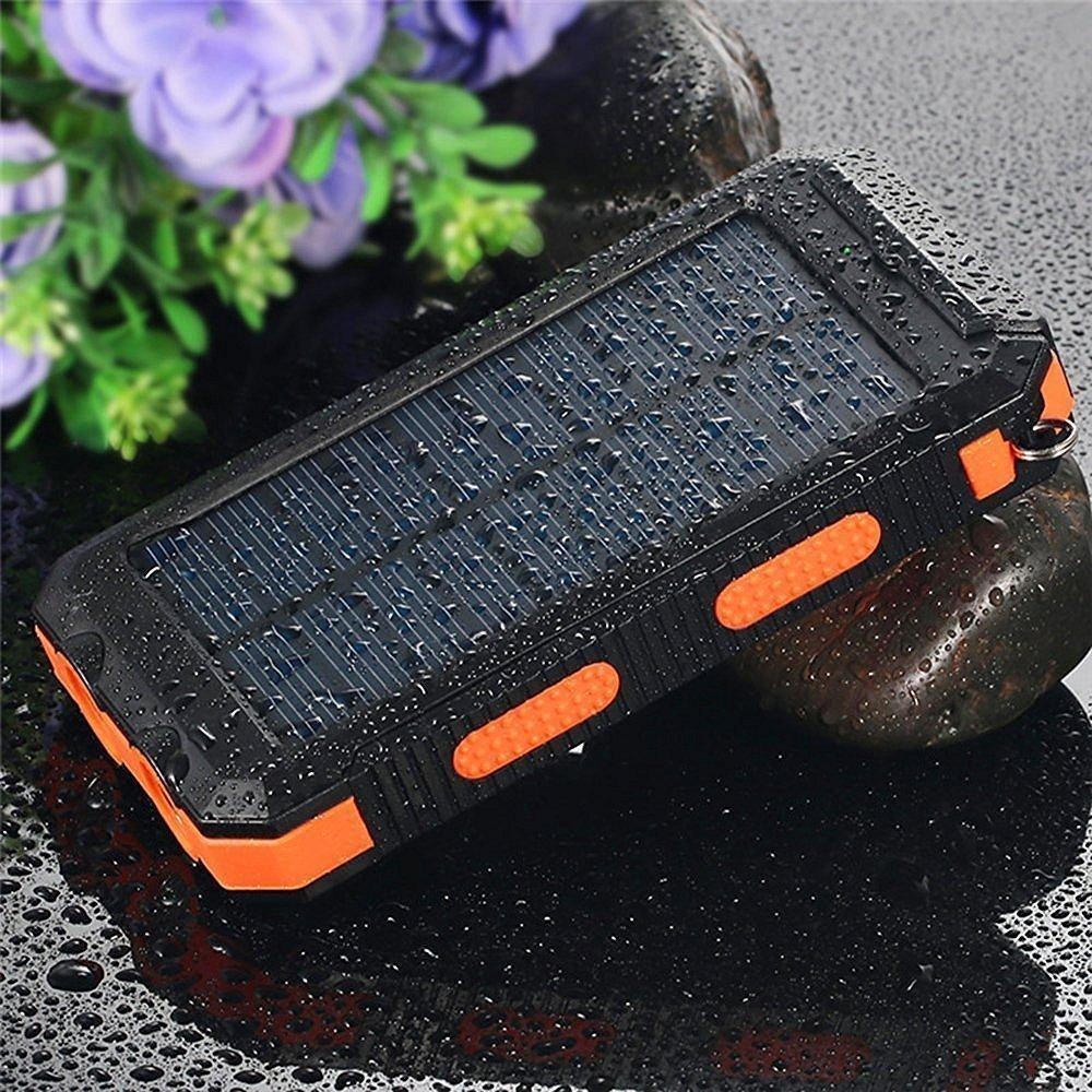 F.Dorla Waterproof Solar Power Bank