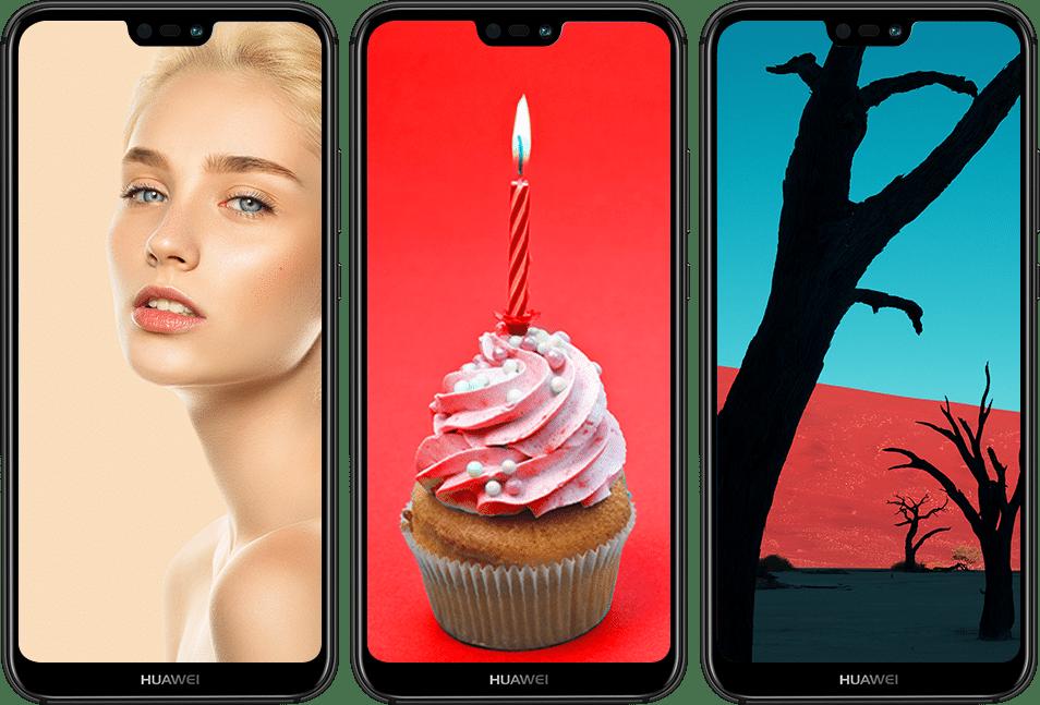 HUAWEI nova 3e phone