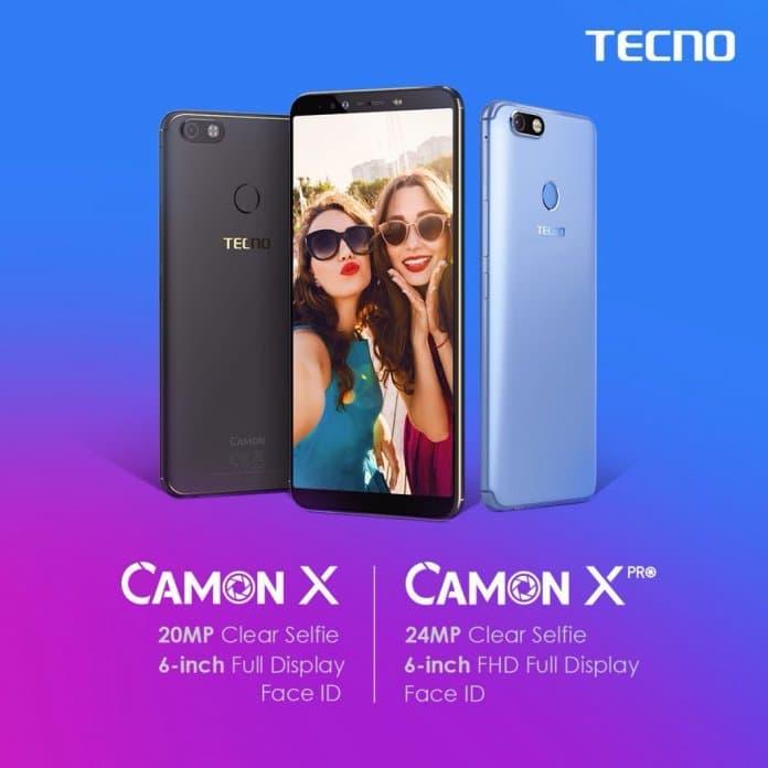 Tecno Camon X and Camon X Pro