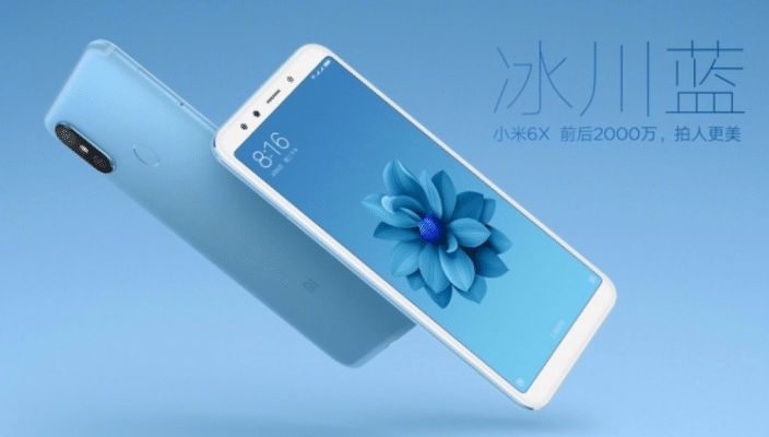 Xiaomi Mi 6X phone