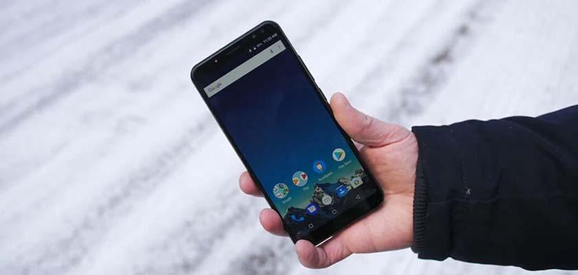 vernee x1 smartphone
