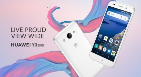 Huawei Y3 (2018)
