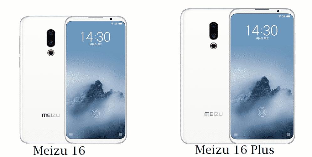 Meizu 16 and 16 Plus