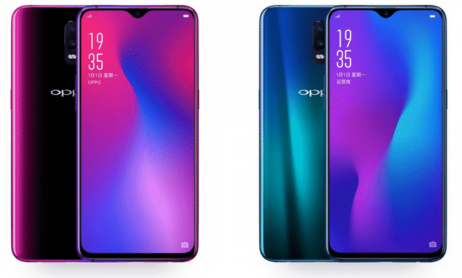 Oppo R17 Android phones