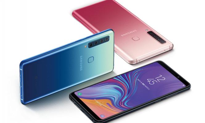 Samsung Galaxy A9s smartphone