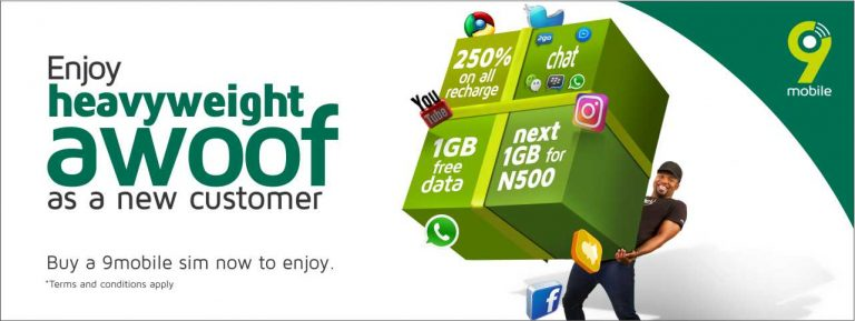 9mobile awoof offer