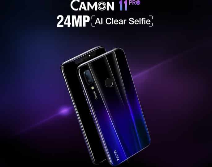 Tecno Camon 11 Pro device