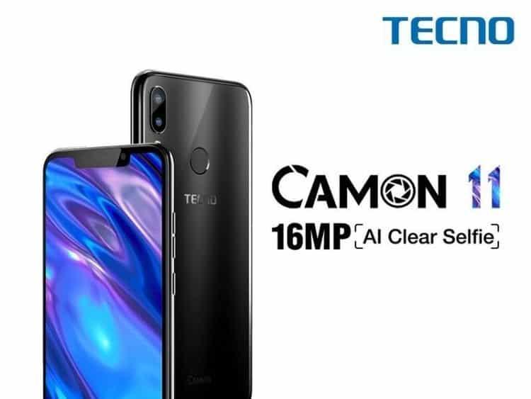 Tecno Camon 11 phone