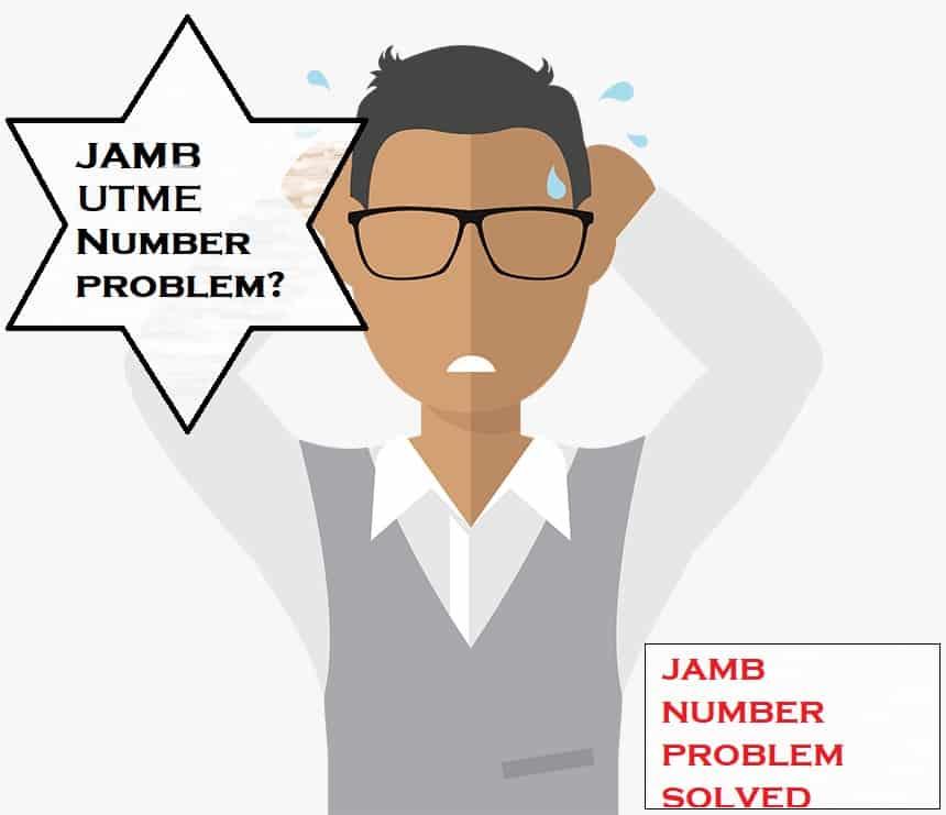 JAMB NUMBER SOLVED