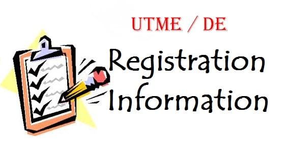 JAMB utme de registration