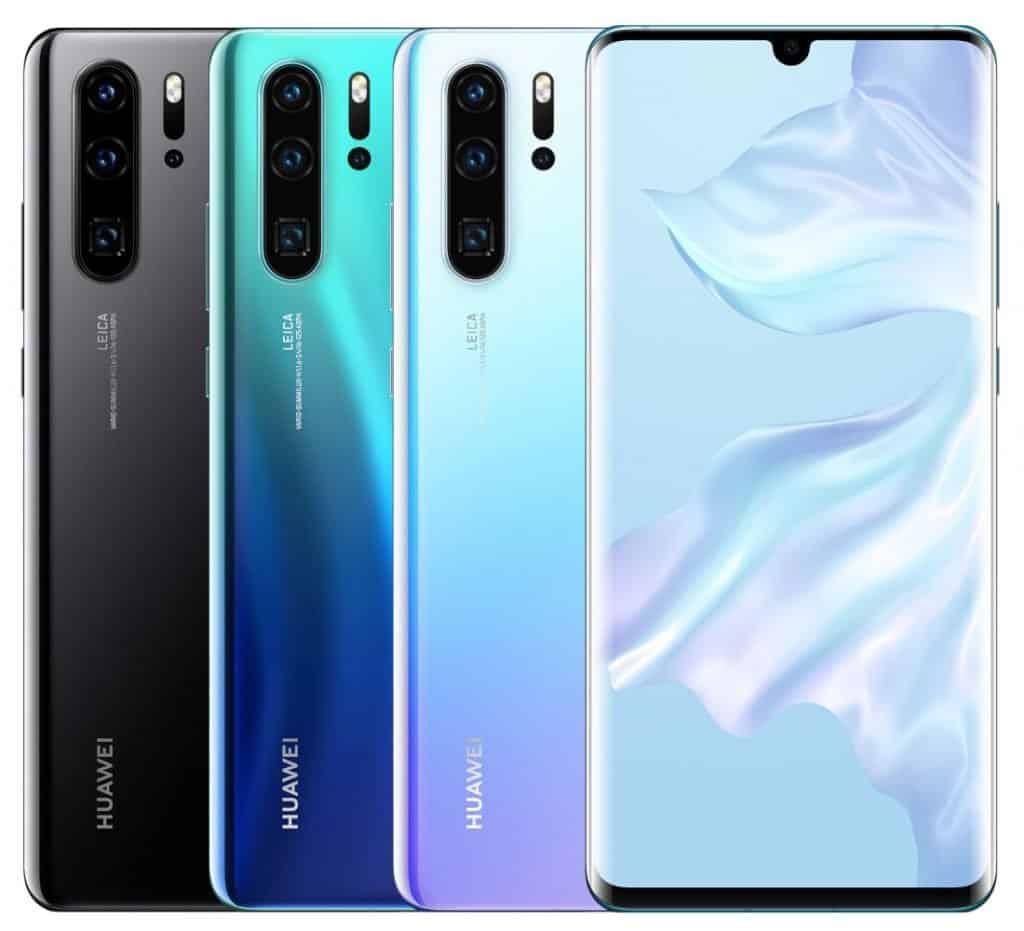 HUAWEI P30 Pro launched