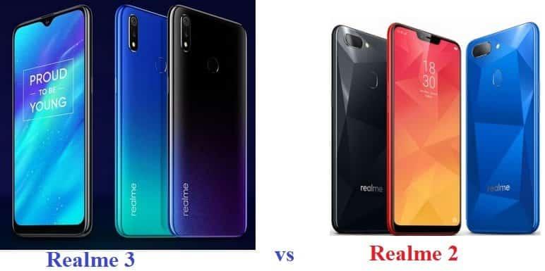 Realme 3 vs Realme 2