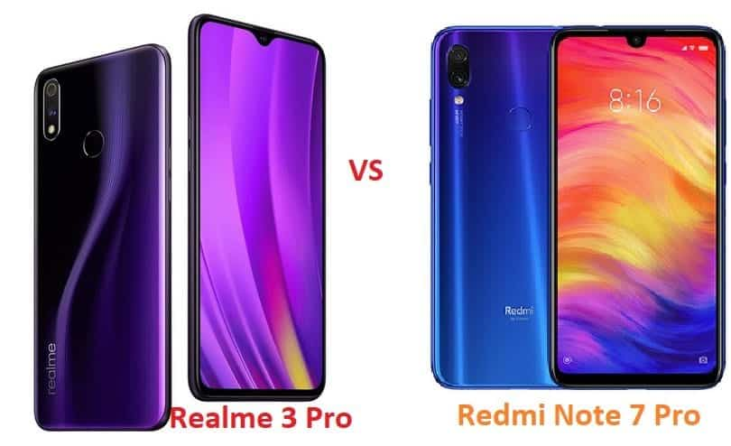 Realme 3 Pro vs Redmi Note 7 Pro