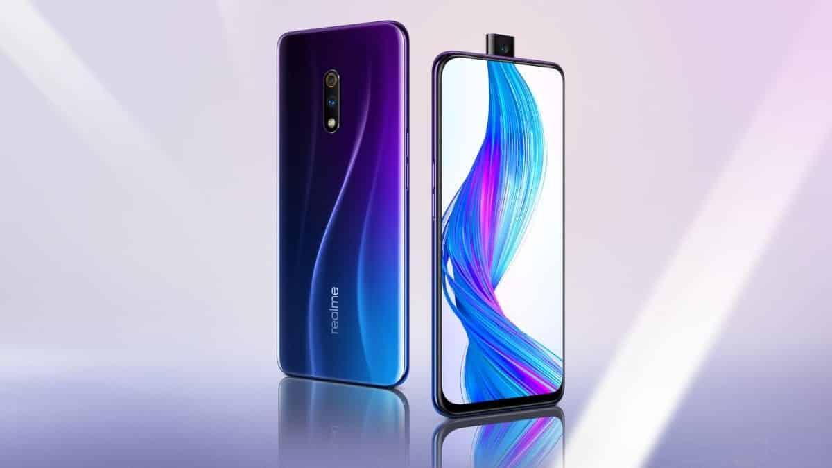 Realme X smartphone