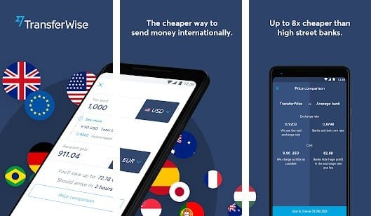 transferwise app android