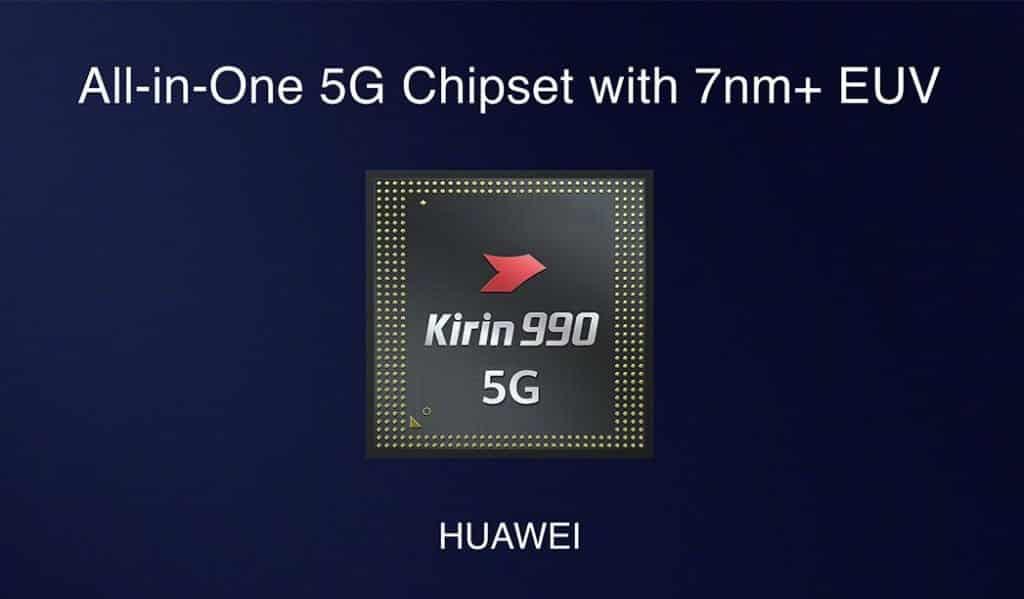 HUAWEI Kirin 990 7nm and Kirin 990 5G