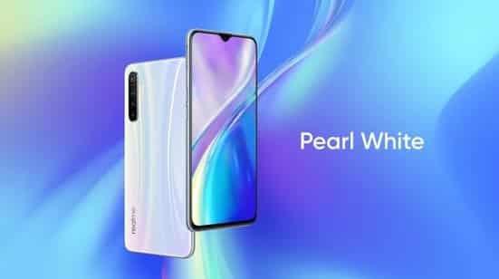 Realme XT Pearl White