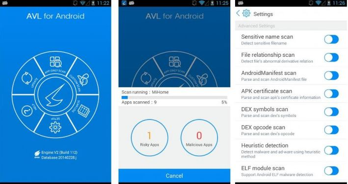 AVL for Android