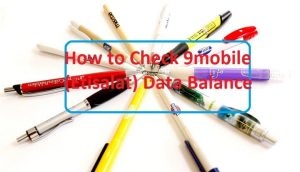 How to Check 9mobile (Etisalat) Data Balance